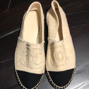 Brand new never worn Chanel espadrilles size 37
